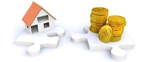 Zusammenhang Immobilie und Finanzen bei der Wertermittlung