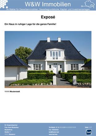 immobilien expos vorlagen unsere referenzen onoffice. Black Bedroom Furniture Sets. Home Design Ideas