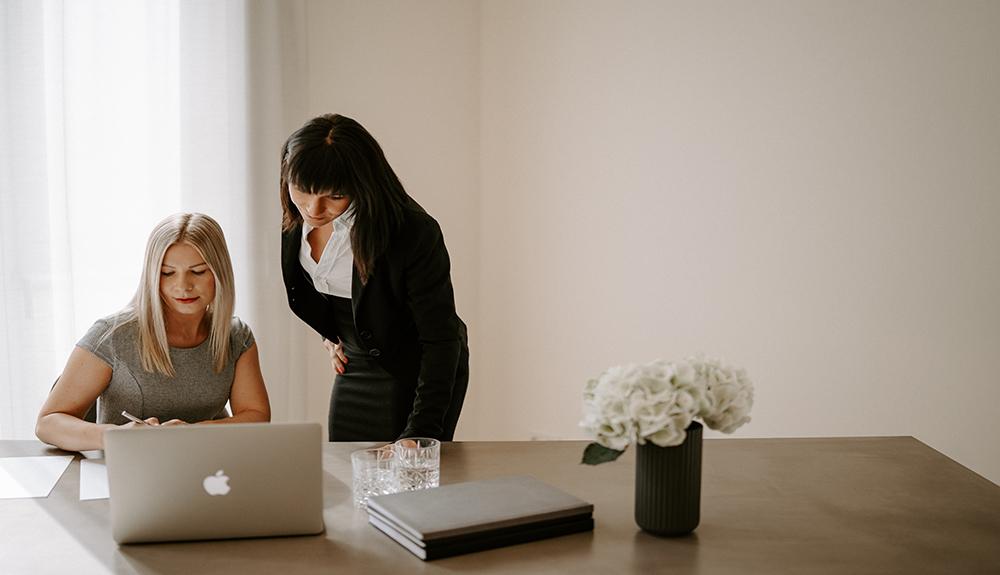Plan zur Exklusivvermarktung durch Natalie J. Jassmann und Stefanie Peetz