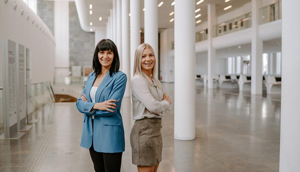 Natalie J. Jassmann und Stefanie Peetz von JPL Immobilien