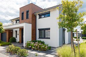 Modernes Einfamilienhaus