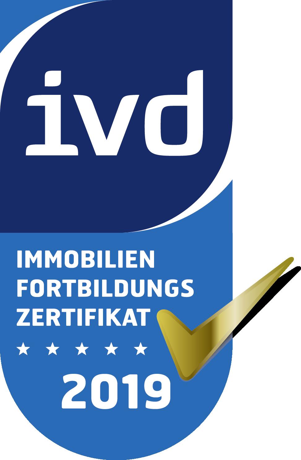 Fortbildungszerfikat vom IVD
