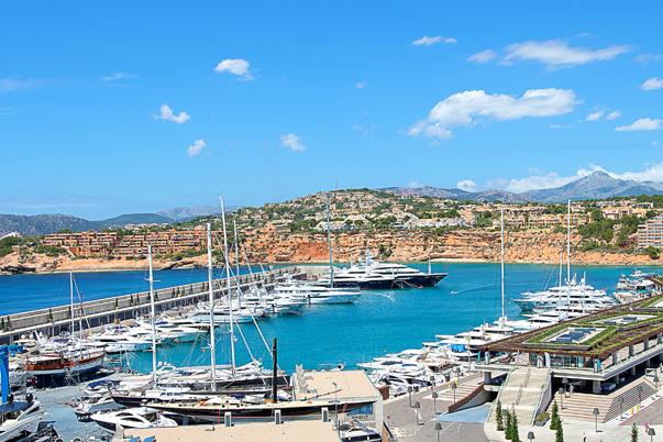 Immobilien am Yachthafen von Santa Ponsa - Mallorca