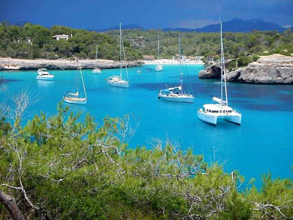 Yachten bei Santany - Mallorca