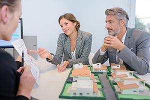 Immobilienplanung mit Investoren