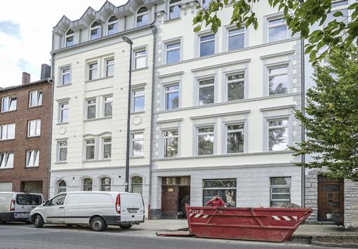 Hausfassaden in Aachen