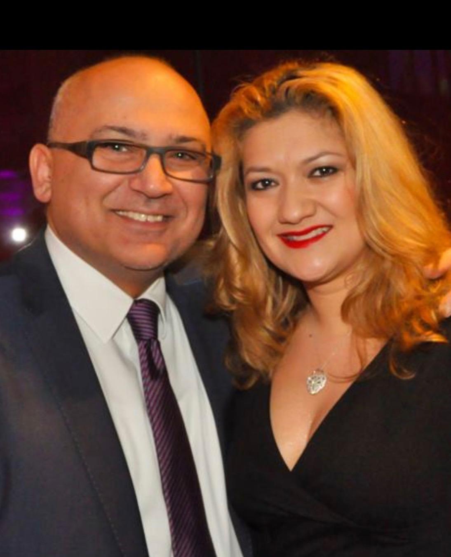 HerrKourosKetabchy und Frau Laura Garcia