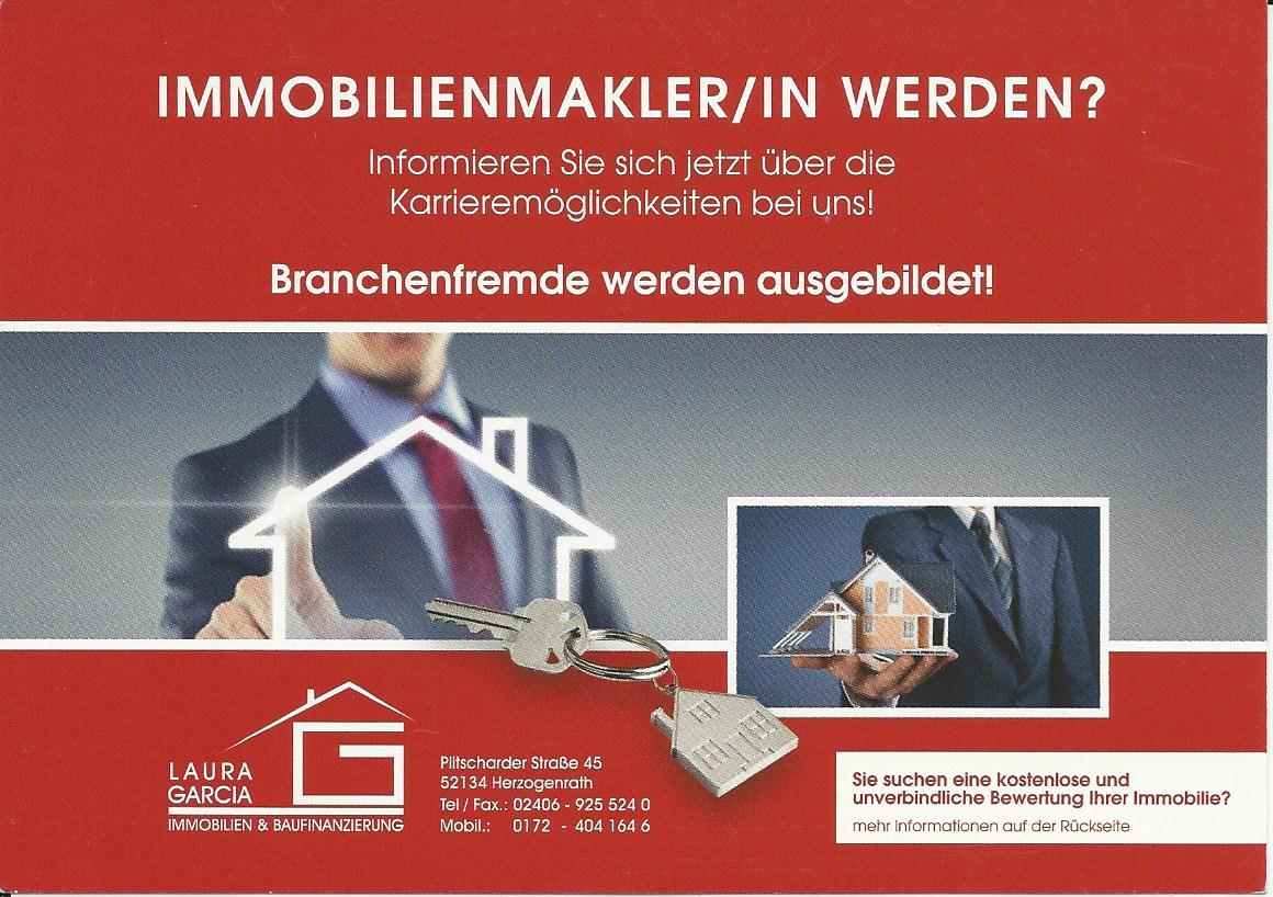 Jobsuche Immobilienmakler Aachen