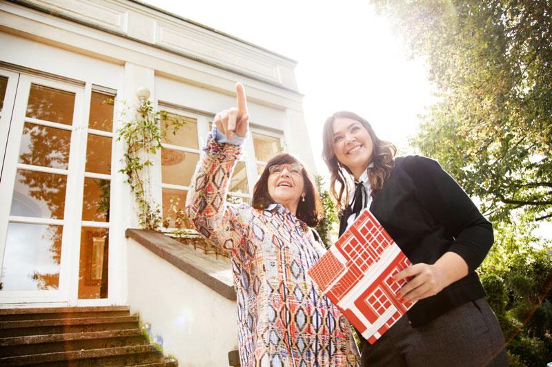 Beim Immobilienverkauf