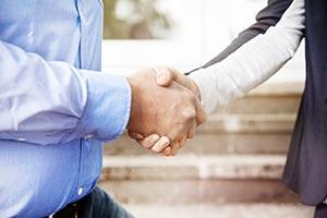 Vertragsabschluss zum Immobilienverkauf