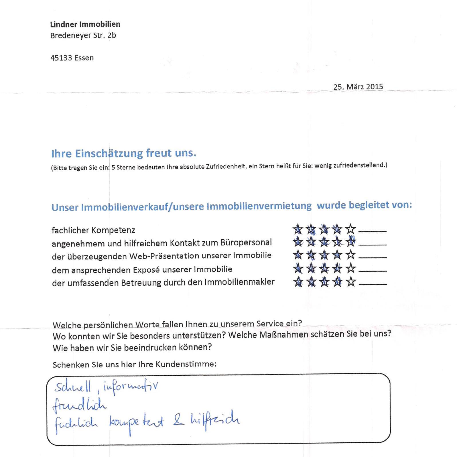 Bewertung - Reiter