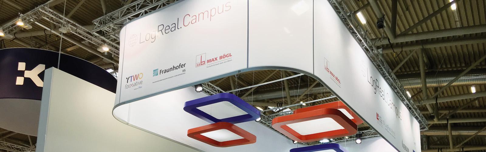 Erneuter erfolgreicher Messeauftritt auf dem LogRealCampus, EXPO REAL