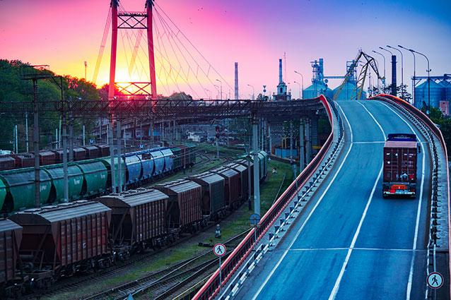 Gleisanschluss und Verkehr