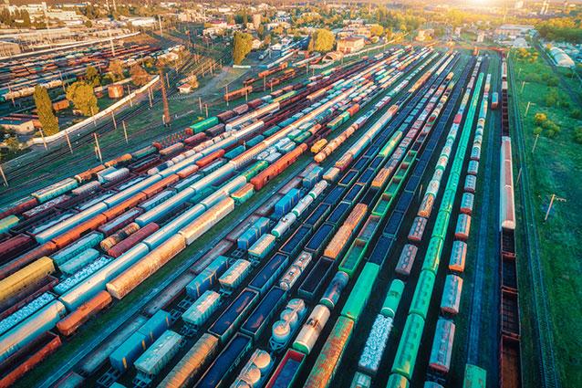 Gleisanschluss Logistik