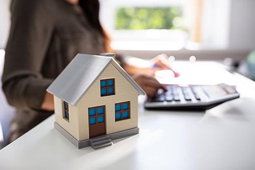 Modell von einem Haus