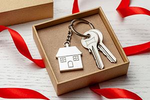 Schlüssel in Box