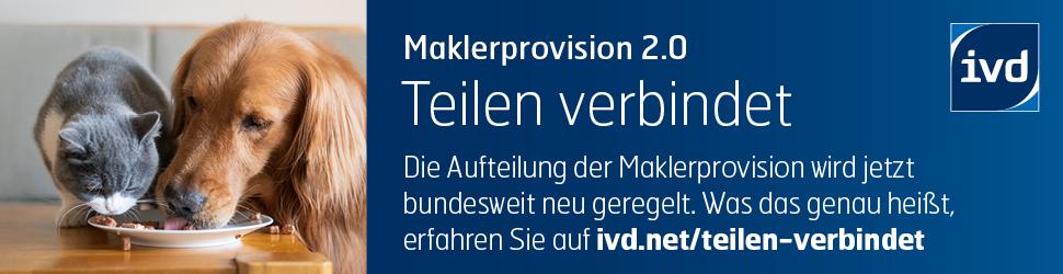 Neue Maklerprovision