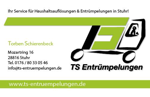 TS Entrümpelungen Logo