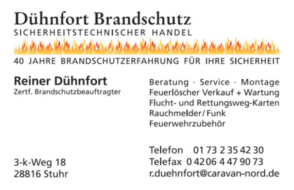 Dühnfort Brandschutz Logo