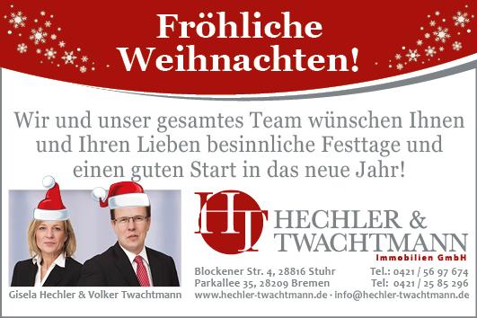 Hechler und Twachtmann Weihnachtskarte