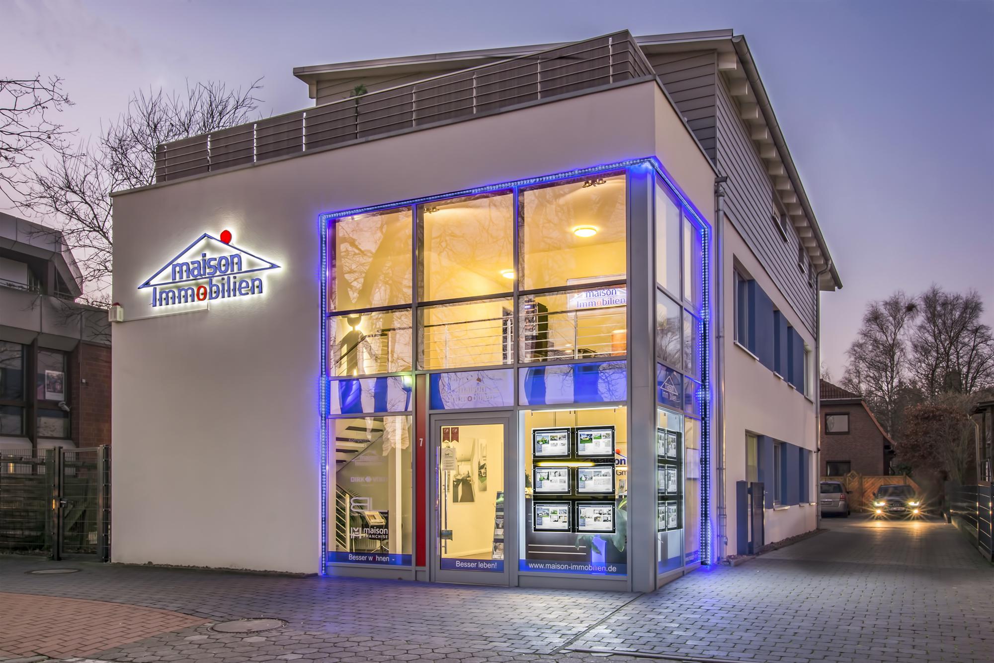 Das Unternehmen maison Immobilien - maison Immobilien GmbH