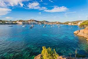 Bucht Santa Ponsa Mallorca