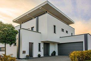 Extravagantes modernes Einfamilienhaus