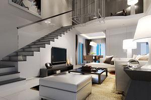 Moderne Inneneinrichtung einer Villa
