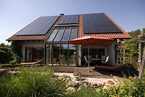 Energieeffizientes Einfamilienhaus