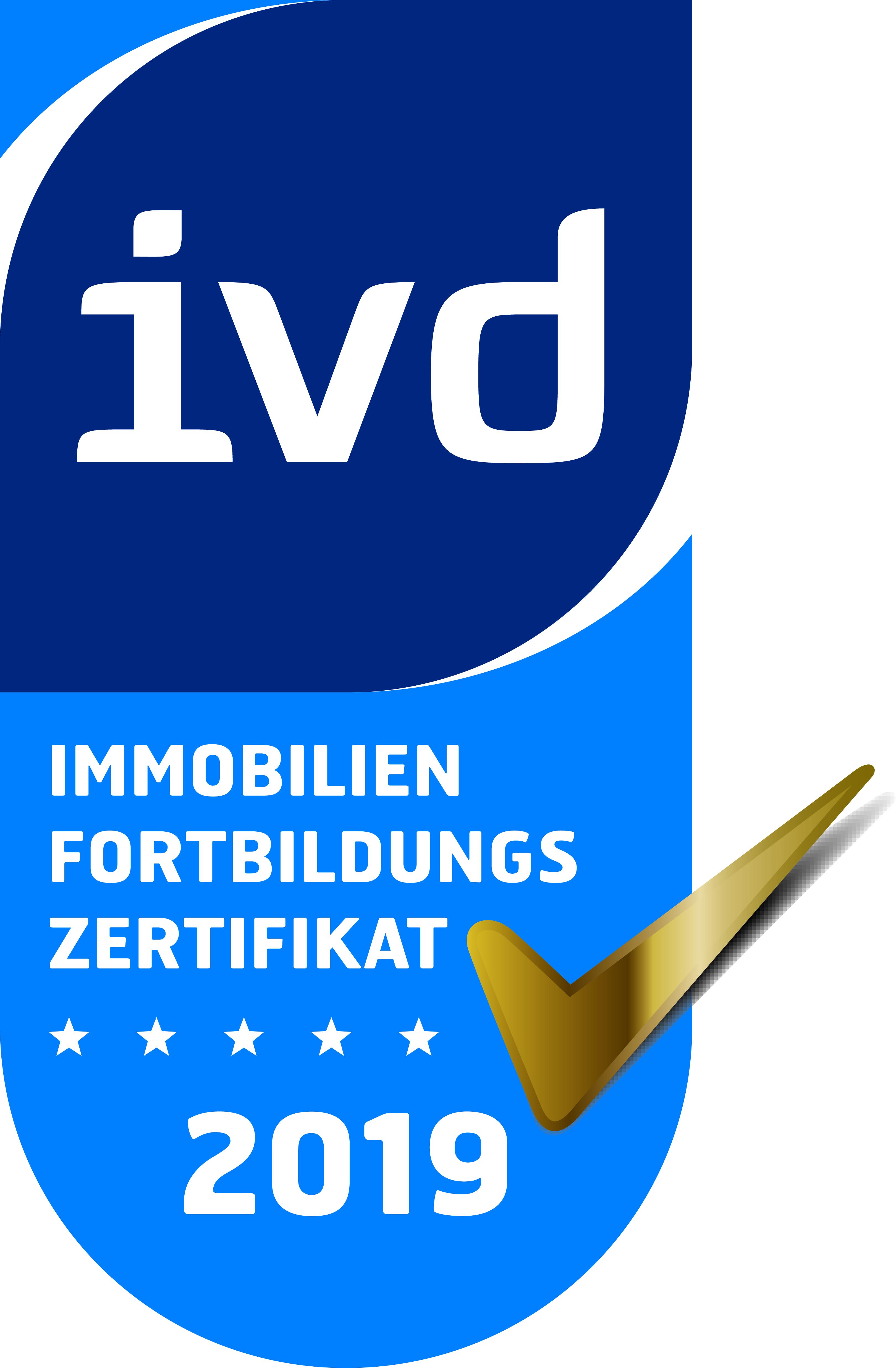 Auszeichnung IVD Immobilienverband Deutschland
