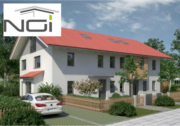 Randering Doppelhaus