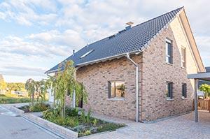 Einfamilienhaus mit Klinkerfassade