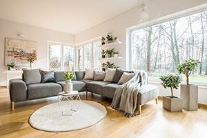 Gemütliche Wohnung mit Holzboden