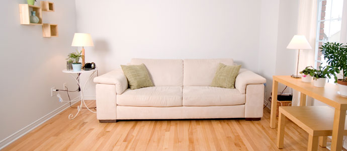 Einladendes Sofa