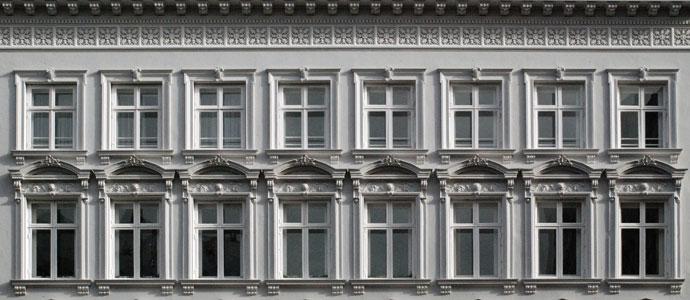 Hausfront Altbau