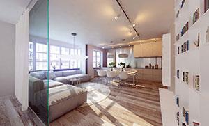 Moderne Wohnung