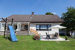 Einfamilienhaus Rückansicht