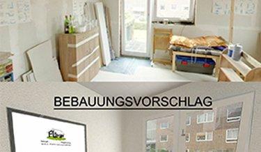 Einrichtung eines Hauses mit Holzmöbeln