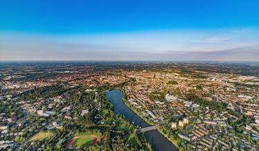 Luftaufnahme von Münster