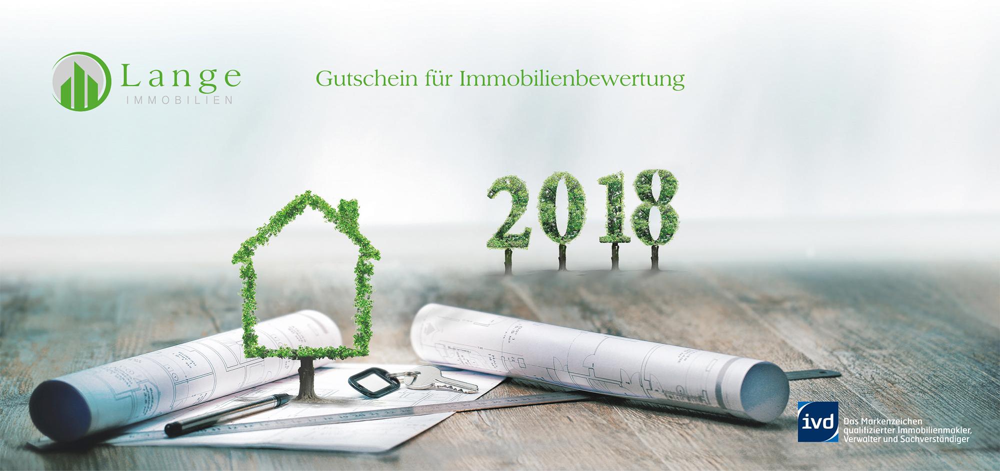 Gutschein für Immobilienbewertung 2018
