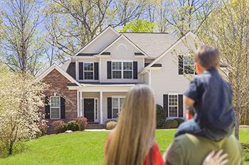 Haus für eine Familie