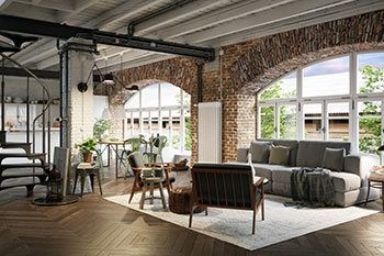 Renovierte Loft-Wohnung
