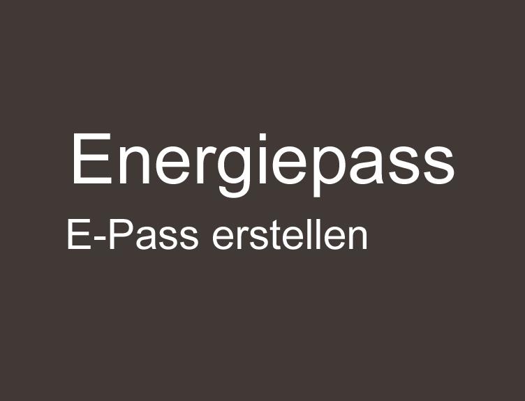 Energiepass erstellen