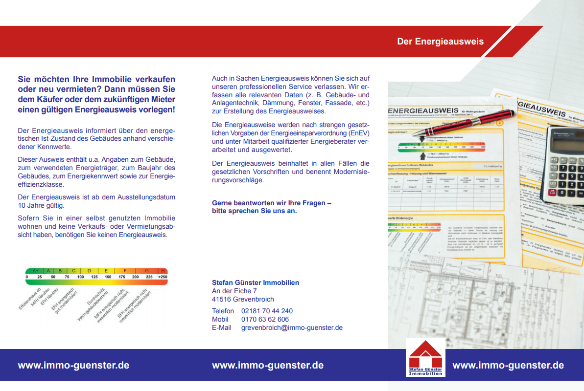 Informationen zum Energieausweis