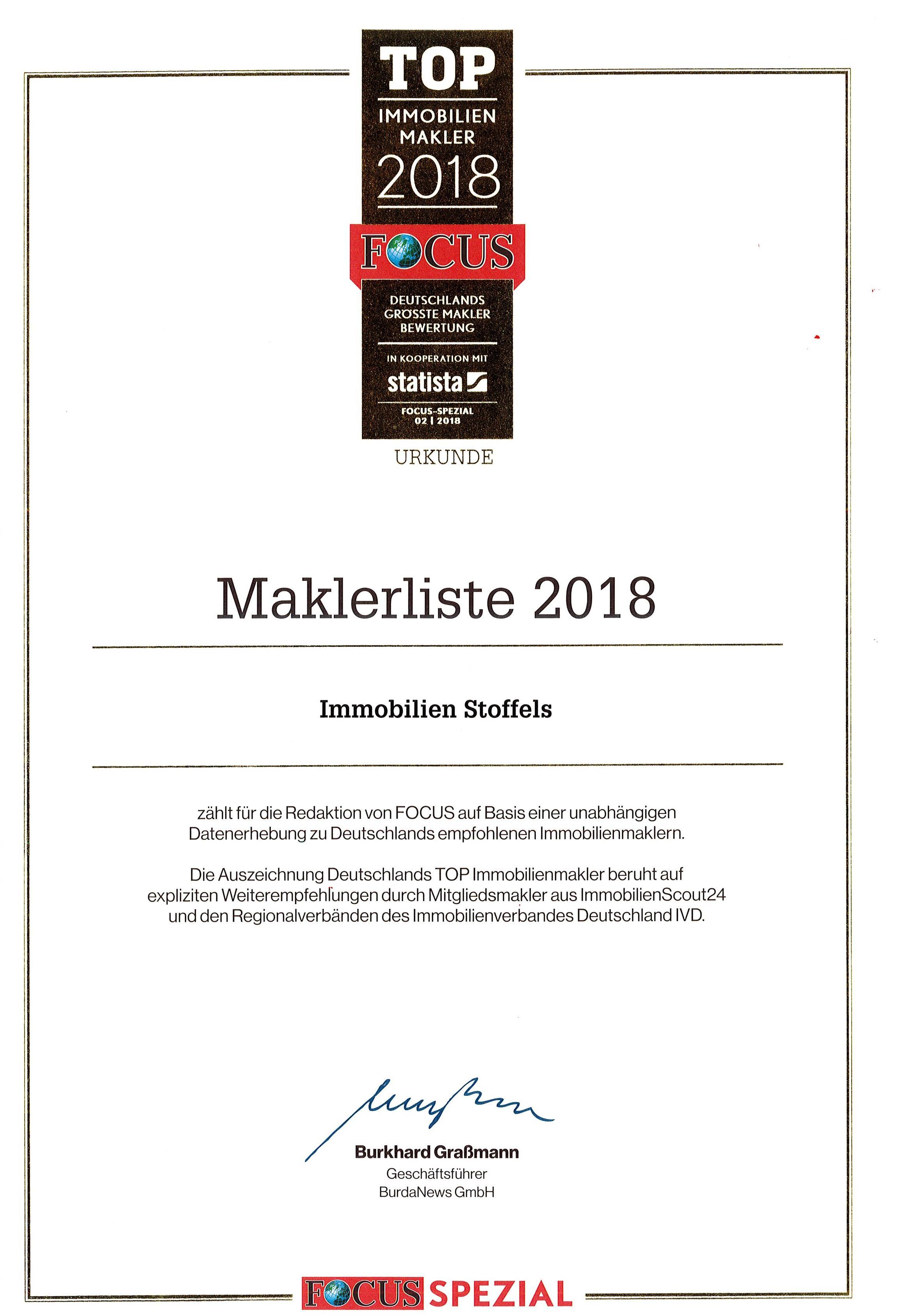 Top-Makler 2018