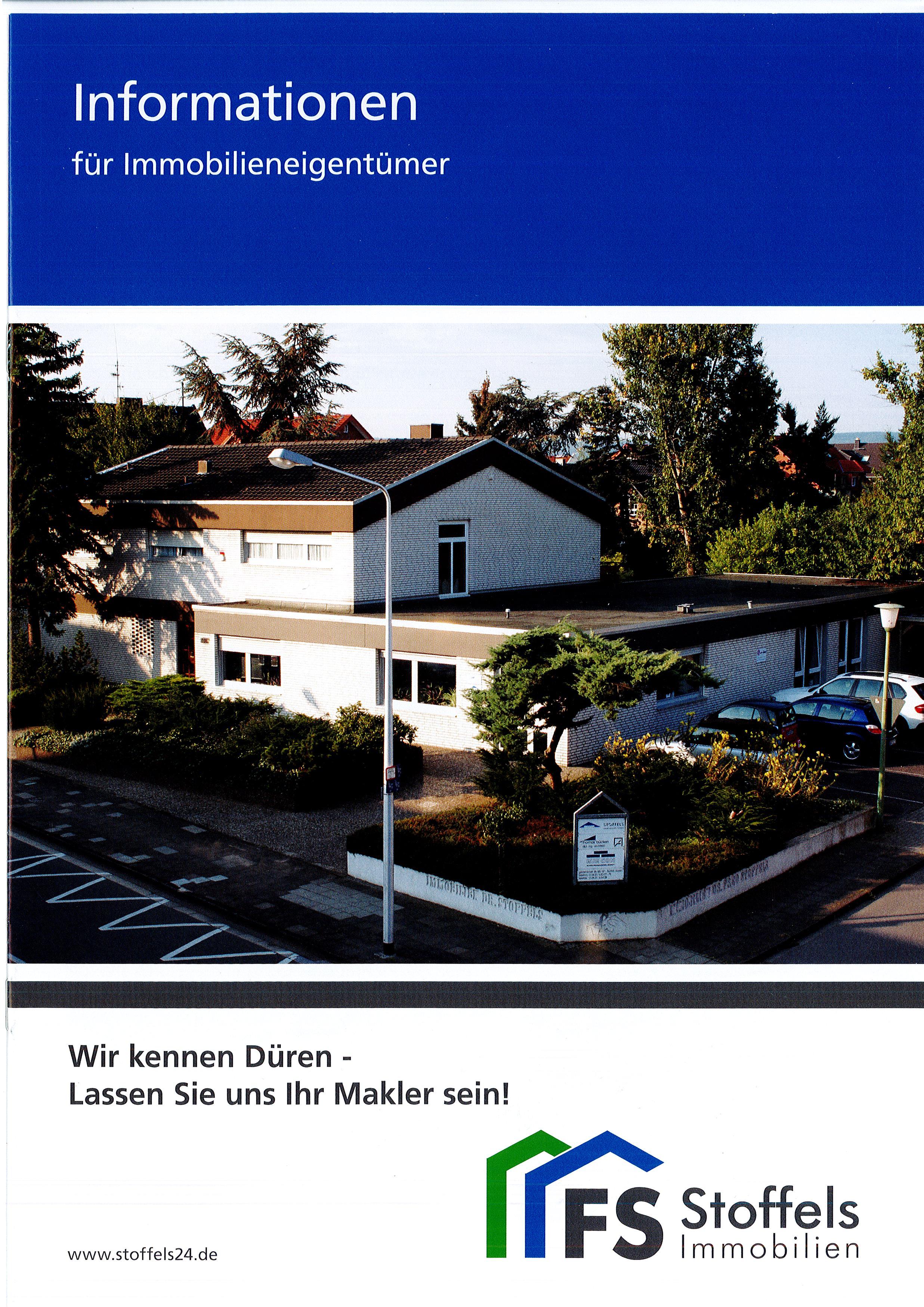 Broschüre Informationen für Immobilieneigentümer