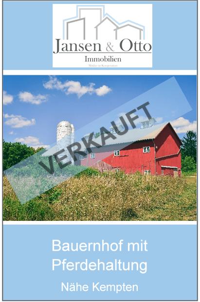 Bauernhof mit Pferdehaltung