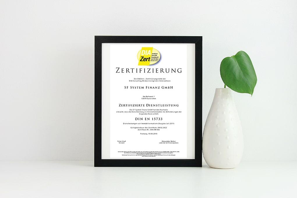 DIA Zertifizierung