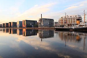 Mehrfamilienhäuser in Bremerhaven neuer Hafen