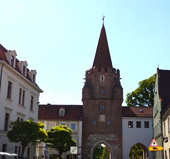 Das Kreuztor in Ingolstadt